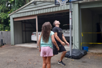 Adding Christmas cheer to some of Youturn's Accommodation Houses, Aitken Legal sponsored a couple of basketball hoops to help facilitate fun activities at a number of homes.